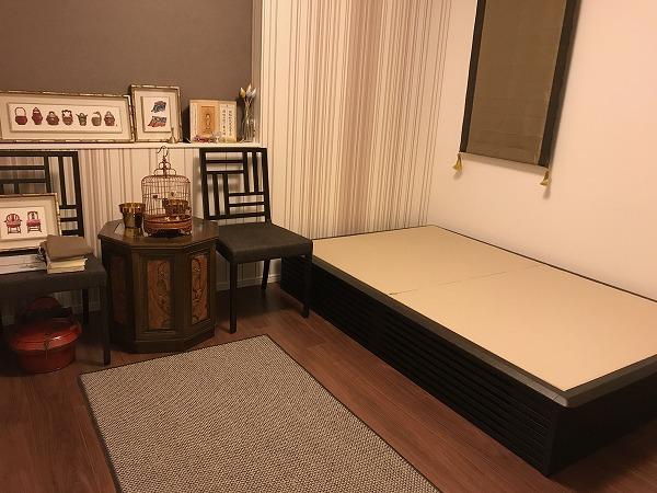 畳ベッド製作