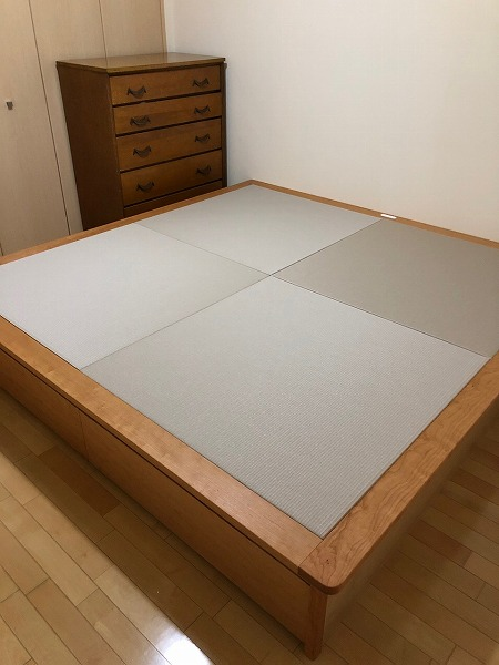 高床式ユニット畳