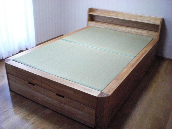 畳ベッド 引き出し収納