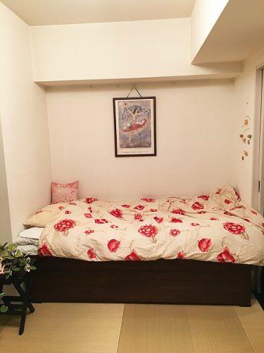 お部屋にぴったり合うサイズの畳ベッド