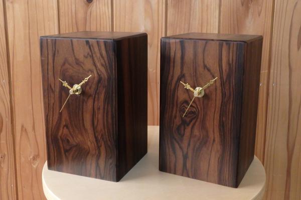 黒檀(コクタン) リメイク 時計
