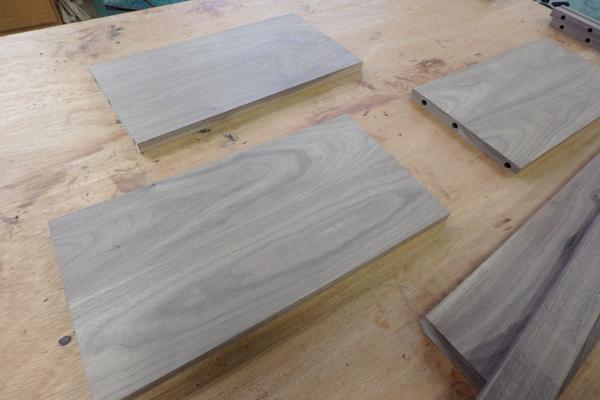 畳ベッド ウォールナット 製作