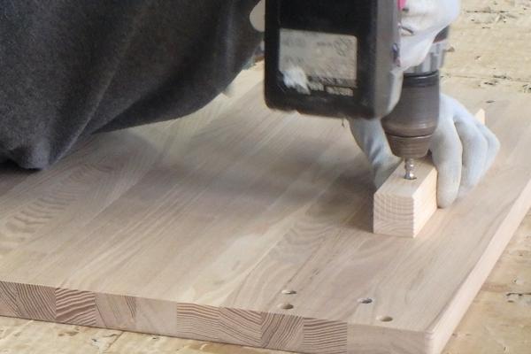 畳ベンチ 製作